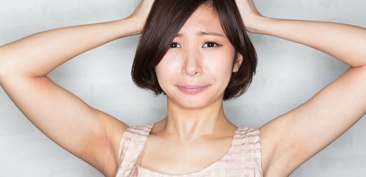多汗症・わきがの整形の失敗・修正・再手術
